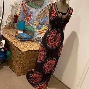 Fabulous BARDOT 70's style Maxi Dress